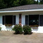 Garage Conversion with Vinyl Siding