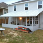 Insulated Patio Cover Before Shingles