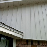 Vinyl siding and Soffit