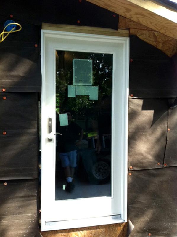 New construction door