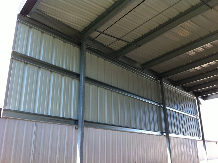 Commercial Carport Walls