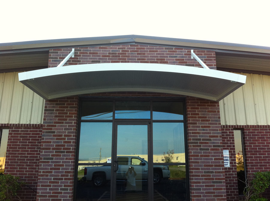 Commercial Door Hood Awnings La Porte 187 A 1