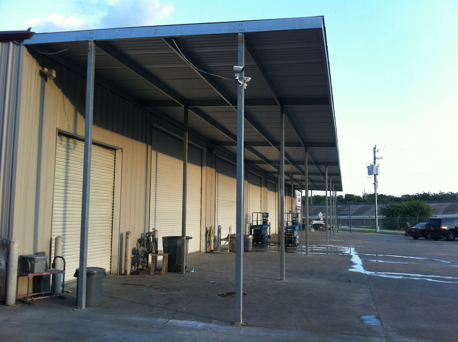 Commercial Steel Awning Carport