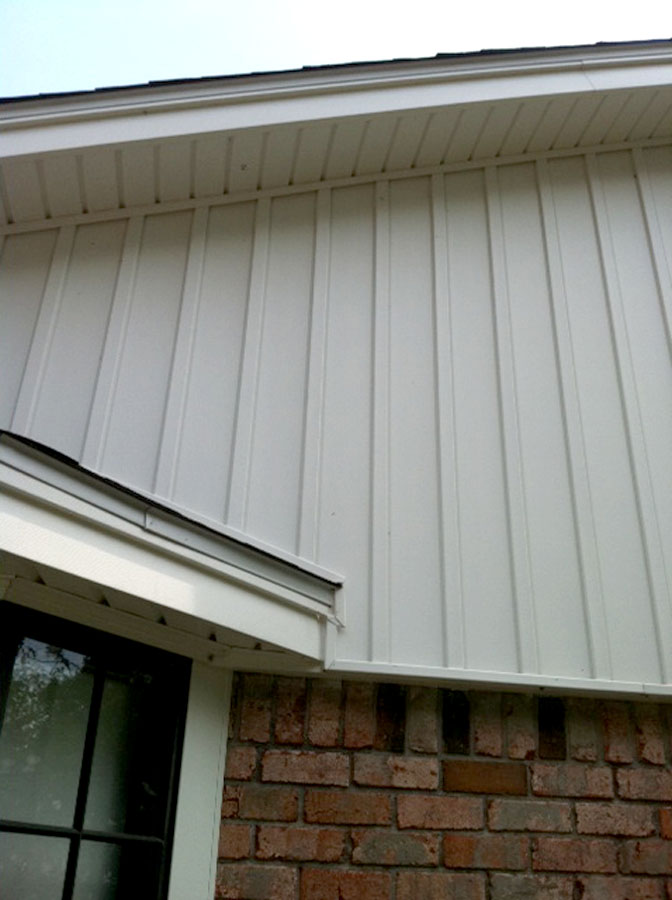 Vinyl Siding Board and Batten