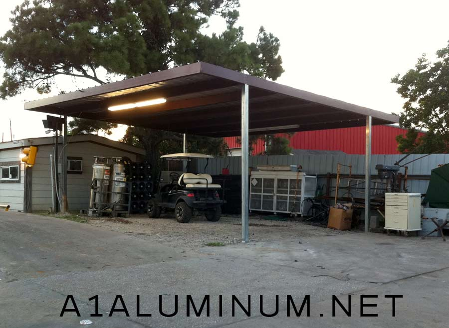 Free Standing Commercial Carport