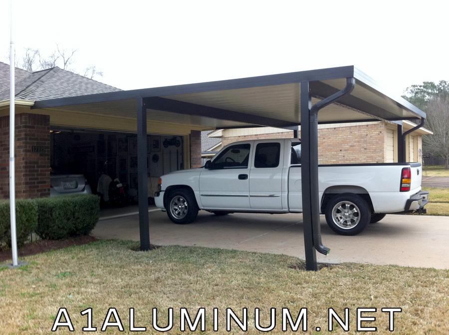 Aluminum carport metal