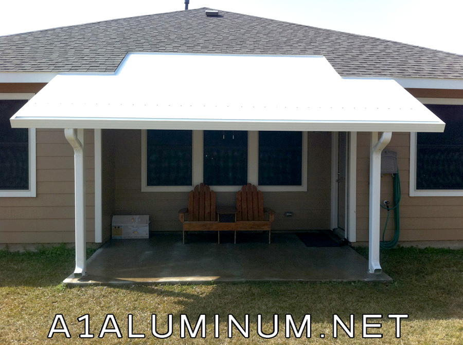 Super Pitch Aluminum Patio Cover And Solar Screens In
