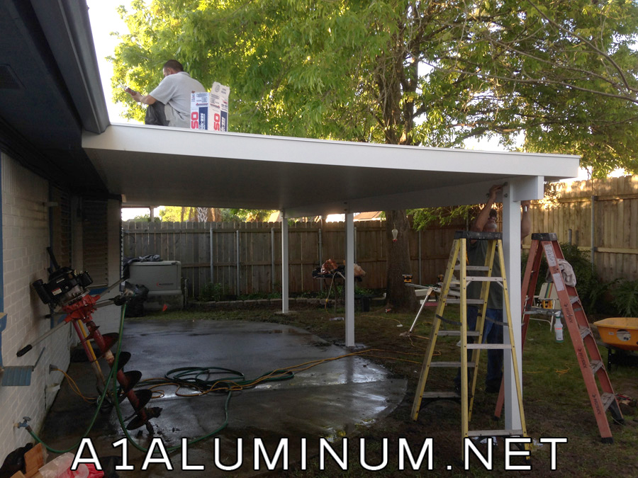 Aluminum Insulated Patio Cover