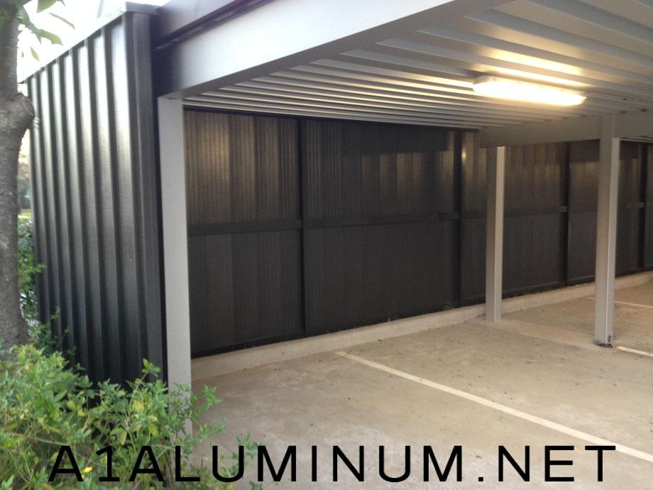Commercial Carport Walls