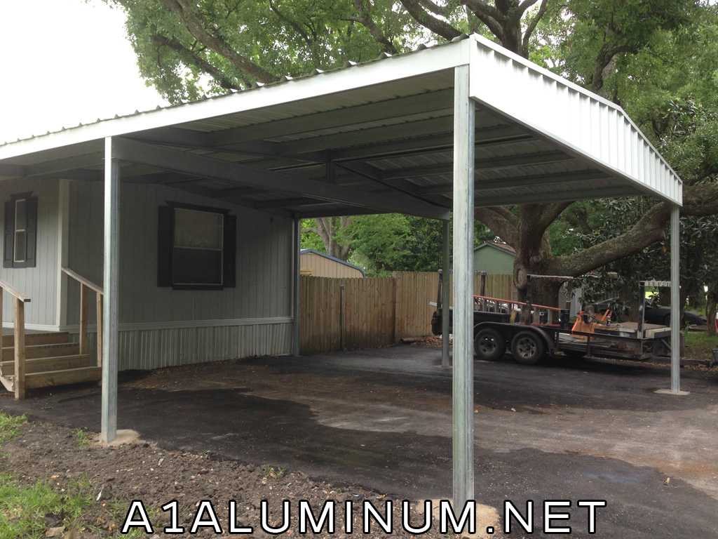 Steel Carport Gabled