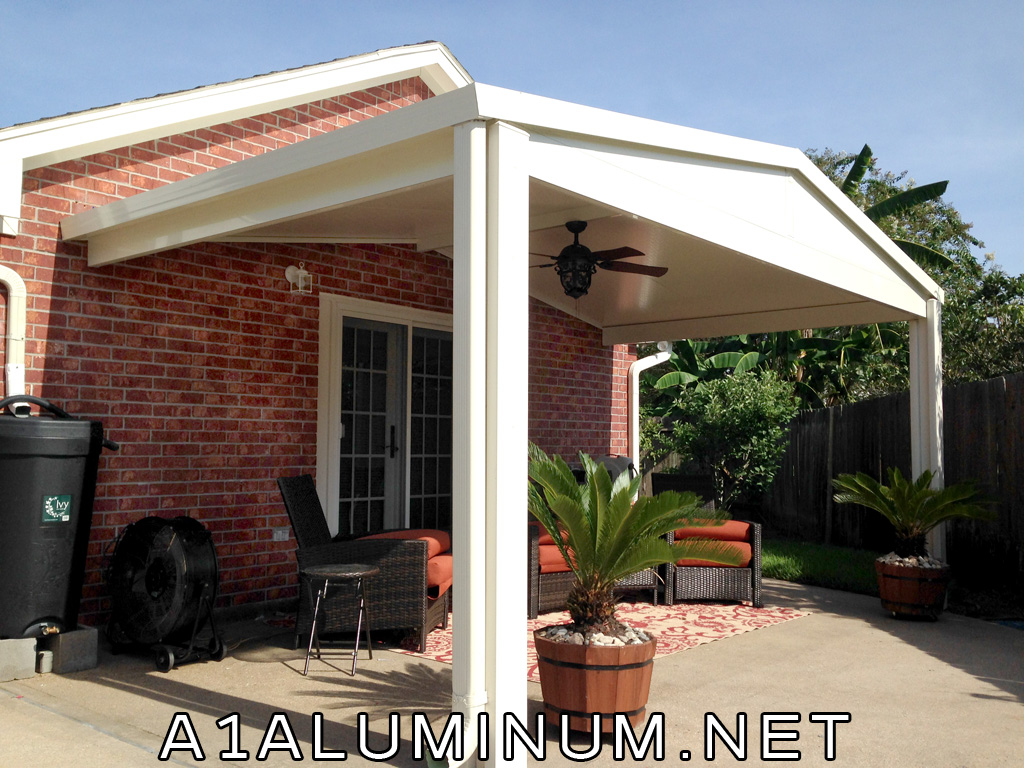 Gabled Patio Cover In League City 187 A 1