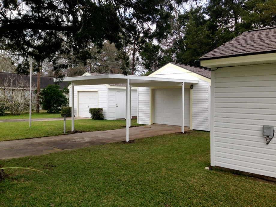 Carport And Siding To Meet Windstorm In Angleton Tx A 1