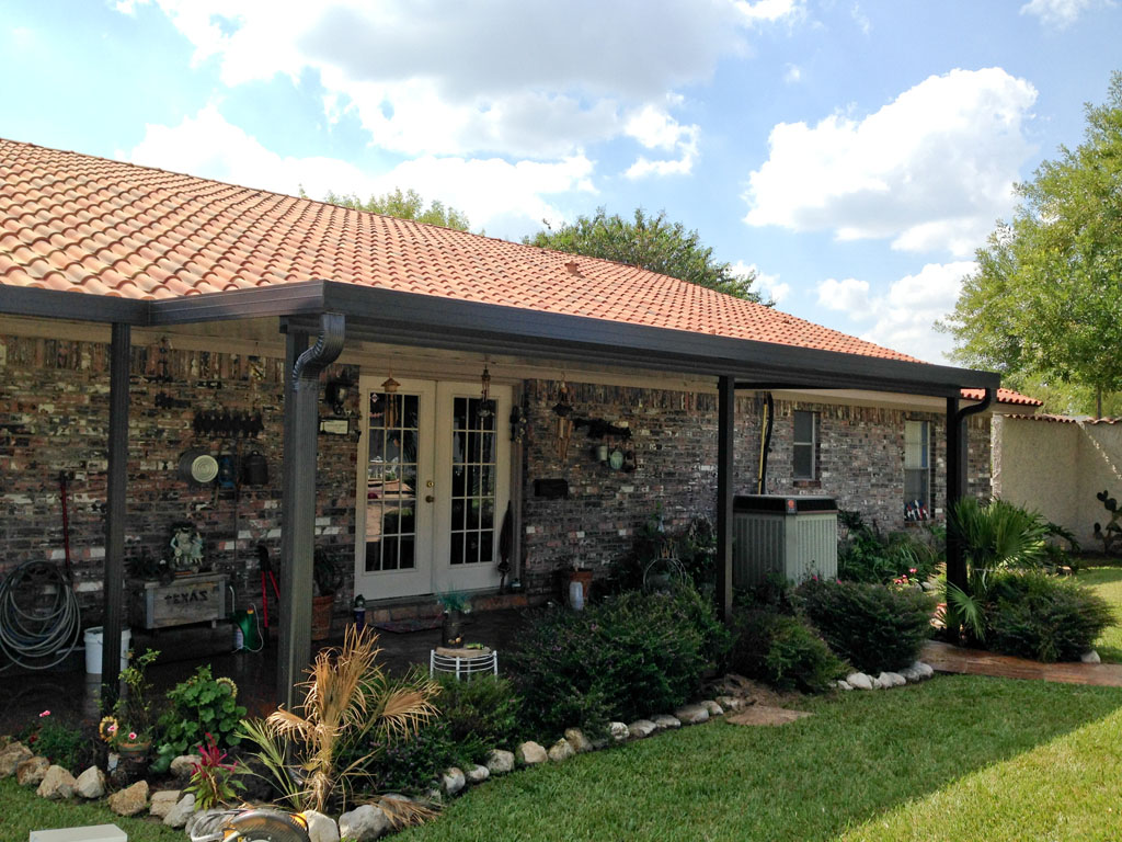 Aluminum Patio Cover And Walkway Cover In Houston Tx 187 A 1